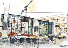 La cantine, Merci, Paris (velt.mathieu) Tags: paris sketch merci interior croquis