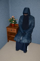 Warm Clothed (Buses,Trains and Fetish) Tags: winter hot girl warm coat hijab torture sweat niqab slave burka chador