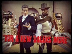 For a Few Daleks More (MiskatonicNick) Tags: cowboy good doctor doctorwho drwho 16 dalek studios 12th diorama clinteastwood daleks bigchief sixthscale playscale characteroptions petercapaldi redmantoys