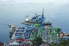 Jayapura Port (Jokoleo) Tags: life city port indonesia bay citylife culture papua highview jayapura