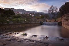 Castelo Novo (Pajares Photography) Tags: rio gua rural canon viagem nuvens ribeiro rvores fundo longaexposio aude cascata