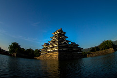 Matsumoto-jo Castle (sonica@2006) Tags: castle japan lens do treasure wideangle super it national what done having matsumoto took nagano shall m43 ultrawideangle matsumotojo i epm1 bcl0980 whatihavingdone