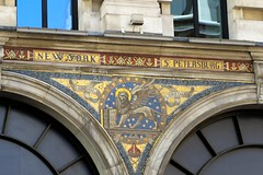 New York, St Petersburg (moley75) Tags: london gold decoration regentstreet frieze wingedlion regentshouse