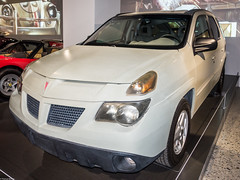 Pontiac Aztek (S000541) (Thomas Becker) Tags: auto copyright history classic 2004 car television museum vintage geotagged losangeles automobile gm raw general thomas c sony iii kultur culture automotive voiture motors bil vehicle oldtimer series pontiac suv fahrzeug petersen becker aztek geschichte crossover youngtimer automobil 汽车 2470 worldcars breakingbad aviationphoto 160131 dsxrx100 dscrx100m3 geo:lat=340626800 geo:lon=1183610300