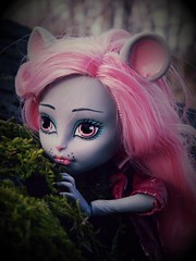 Mouscedes king (mijalien) Tags: nature look monster rose toy mouse toys nice doll dolls portait mattel monsterhigh booyork