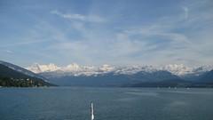 Eiger - Mönch - Jungfraujoch - Jungfrau der Berner Alpen - Alps über dem Thunersee im Berner Oberland im Kanton Bern der Schweiz (chrchr_75) Tags: hurni070530 christoph hurni schweiz suisse switzerland svizzera suissa swiss kantonbern berner oberland berneroberland chrchr chrchr75 chrigu chriguhurni chriguhurnibluemailch mai 2007 kanton bern thunersee alpensee see lake lac sø järvi lago 湖 albumthunersee mönch kantonwallis kantonvalais berg mountain montagne alpen alps