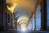 Seeking the Light (NOCTOGRAFIA - Gabriel Glez.) Tags: light spain arcade corridor seeking palacioreal royalpalace palacio aranjuez soportales eurpe seekingthelight gabrielglez noctografia