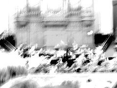 Psycho sounds (Arthur Bouteiller) Tags: light shadow people urban bw music white abstract black blur art amsterdam dark fire perception concert movement experimental noir graphic emotion noiretblanc live dream shapes style down nb human psycho orchestra sound forms dreamy form feeling fuego noise damaged shape et blanc symphony psyche upside humans feu flou musique confuse destroy vibration vibe orchester