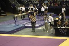 Alex Yacalis floor (2) (Susaluda) Tags: uw sports gold washington university purple huskies gymnastics dawgs