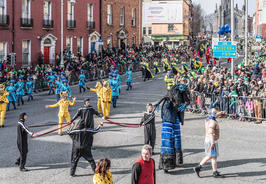 GAME ON BY CITY FUSION [DUBLIN 2016 PATRICK'S DAY PARADE]-112581
