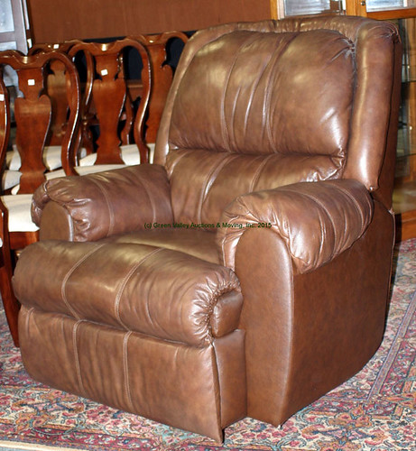 Brown Leather Recliner - $440.00 (Sold July 31, 2015)