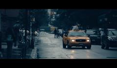 I Didn't Realize (Dj Poe) Tags: street city nyc newyorkcity people cinema ny newyork streets color rain yellow umbrella canon movie photography manhattan candid cab taxi fake cabbie cinematic tones yellowtaxi 2011 ef70200mmf28lisusm fakemovie canoneos5dmarkii 5dmkii 5dmk2 djpoe andrewmohrer