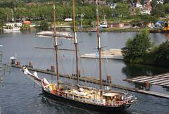 Sailing Ships (ray 96 blade (retired)) Tags: tallships lockgate balticcruise kielcanal