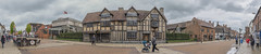 William Shakespeare Birthplace (Gazza Photography) Tags: street city travel blue england sky urban panorama house building beautiful architecture clouds high europe cityscape view shakespeare william panoramic architect views tumblr birtplace bestofmarch