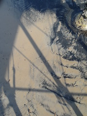 Coal struts (Nekoglyph) Tags: black beach wet pier seaside sand shadows legs yorkshire cleveland saltburn seacoal