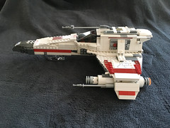 IMG_1255 (lee_a_t) Tags: starwars fighter lego xwing spaceship ewing rebels starfighter darkempire legoxwing legostarfighter legoewing
