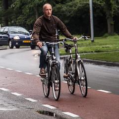 two bikes (Jan Herremans) Tags: bicycle nederland alkmaar 2010 woophy janherremans