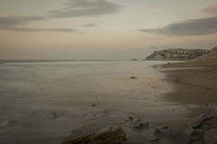 Basque Coast (Alexander Urdiales) Tags: ocean sea costa water mar seaside waves silk shore olas euskadi basquecountry oceano paísvasco sopelana basquecoast ndfilter costavasca