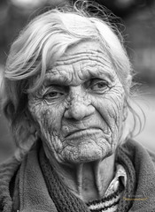 Bezzeg az n idmben.../ In the good old days... (jazzymatt) Tags: old portrait bw white black eye art beautiful beauty lady nikon socio fekete fehr szem portr szp hlgy n reg d7100 szpsg ids rnc