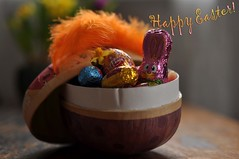 Happy Easter... (FlorDeOro) Tags: stilllife macro easter photography nikon colorful candy nikkor d90 40mmf28gmicro mijarajc