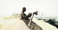 Dust in the wind (darlingevie72000) Tags: beach secondlife sureal