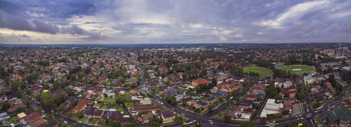 Bankstown from above