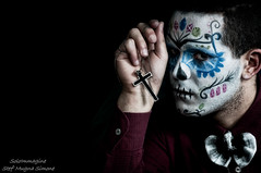 Caio (SoloImmagine) Tags: face painting mexico skeleton skull paint mexican diadelosmuertos calavera calaca