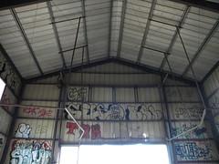 The barn 4 (Randall 667) Tags: street city urban building art abandoned island graffiti big artist exploring dump writer mp bombs rhode cumberland sayo tagger sile bcb
