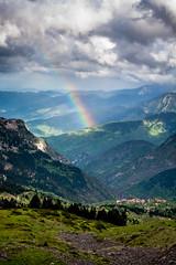 Stournareika under the rainbow (zampination) Tags: vertical canon landscape rainbow dramatic kitlens 1855 raining 450d