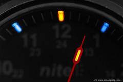 Tritium Tubes (Simon Greig Photo) Tags: macro closeup dark watch timepiece nite mx10 tritium