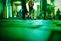 Street cacophony. (Markus Moning) Tags: street carnival eye film analog schweiz switzerland lomo lca xpro lomography rat view cross low ct ground down x level valley rats pro 100 process lc agfa expired rheintal rhine processed zero ch karneval fasnacht cacophony moning sanktgallen altsttten precisa markusmoning tschtteri kakophonie