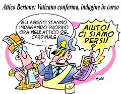 Bertonian Labyrinth (Moise-Creativo Galattico) Tags: vaticano vignette satira attualit moise bertone giornalismo attico indagini editoriali moiseditoriali editorialiafumetti