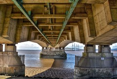 Inside Out (Nige H (Thanks for 4.6m views)) Tags: bridge architecture river structure riversevern underside underbelly secondseverncrossing