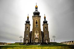 Cathedral of the Transfiguration - Wide (john.vuong) Tags: sky pope church john paul catholic cathedral god roman religion jesus landmark slovakia byzantine transfiguration carillon ourdoors religulous