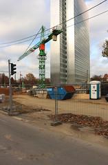 Stadtmitte, Dsseldorf 2015 (Spiegelneuronen) Tags: stadtmitte architektur dsseldorf stadtbild dreischeibenhaus