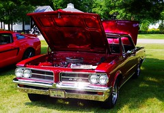 Little GTO (ilgunmkr - Thanks for 4,000,000+ Views) Tags: pontiac gto carshow 1964 389 2015 1964pontiacgto hennepinillinois