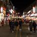 A agitada Rua Hongdae