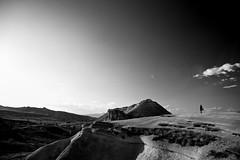 Capadocia, Turkey (akarakoc) Tags: sunset blackandwhite sun sunlight evening walk fujifilm kapadokya fujifilmxseries x100t