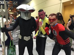 Black Manta, Sinestro & Red Lantern
