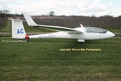 G-CJBR Schempp Hirth Discus B (SPRedSteve) Tags: glider discus winglets sailplane shodon kenley schempphirth discusb surreyhillsglidingclub gcjbr