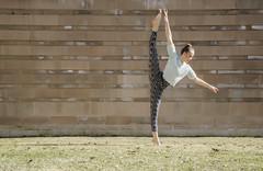 lawn ornament (vikkiq) Tags: girl dance dancer teen teenager