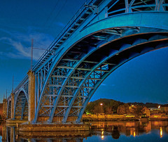 The railway bridge (Matja Skrinar) Tags: 100v10f