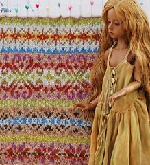 Square 3, Fairisle challenge (stashraider) Tags: marie fairisle rowan wallin dollstown