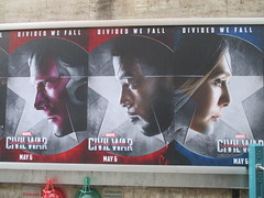 Captain America Civil War Sidewalk Billboard 2016 ADs 8163 (Brechtbug) Tags: world street new york city nyc chris winter two 3 america ads movie subway poster soldier book three evans war theater comic sam sebastian theatre near steve entrance super joe ironman tony billboard lobby stan sidewalk v civil ii ave captain hero falcon anthony billboards wilson shield vs rogers marvel stark 7th barnes bucky russo the 2016 36th standee 04142016