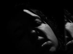 War - C.Tangana (mynikonismyfourtheye) Tags: light shadow portrait bw me girl face reflections contraluz hair mirror war flickr noir hand sad c lips bn agz tangana nikoncoolpixl820