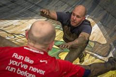 falling (stevefge) Tags: people men netherlands sport mud action candid nederland viking endurance berendonck reflectyourworld strongviking