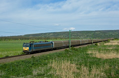 V63 046 - Kurd (Kornl Tili) Tags: railroad mountain landscape rail kurd mv gigant vonat vast mozdony v63046 630046