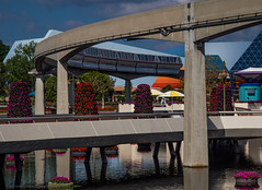 Monorail Monday XXXVIII - Volume 6 (DugJax) Tags: monorail waltdisneyworld epcotcenter futureworld monorailred ef1740mmf4lusm canonrebelt2i