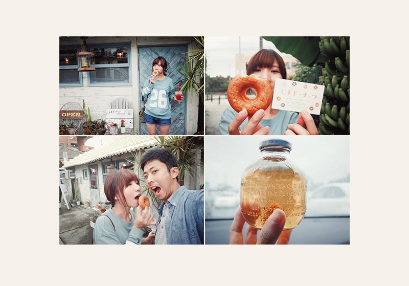 沖繩名護しまドーナッツ甜甜圈