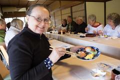 Leena's sushi (pennykaplan) Tags: food sushi group oat leena